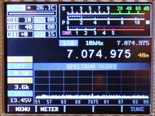 mcHF QRP transceiver Kit 220.75 GBP