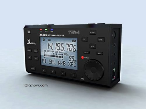 Xiegu X5105 HF + 6 m SDR ricetrasmettitore