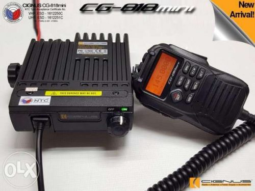 Cignus CG818 VHF/UHF Mini Base Radio