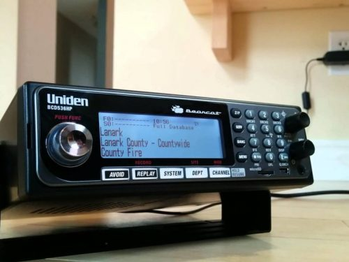 Uniden annuncia il supporto DMR per i suoi scanner di punta