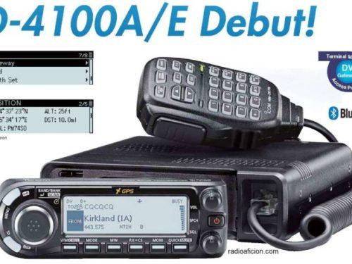 Icom ID-4100A  Debutto 15 Marzo